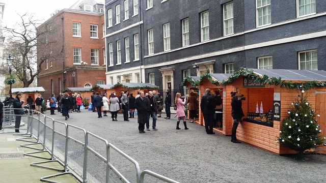 Downing Street Small Business Christmas Fair