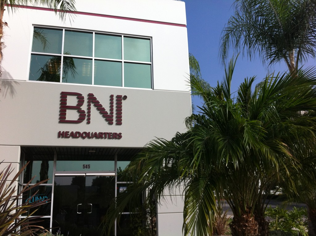 BNI Headquarters in Upland, California