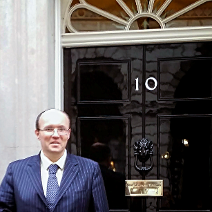 James McBrearty at Number 10 Downing Street