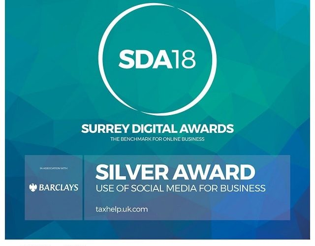 Winner at the 2018 Surrey Digital Awards