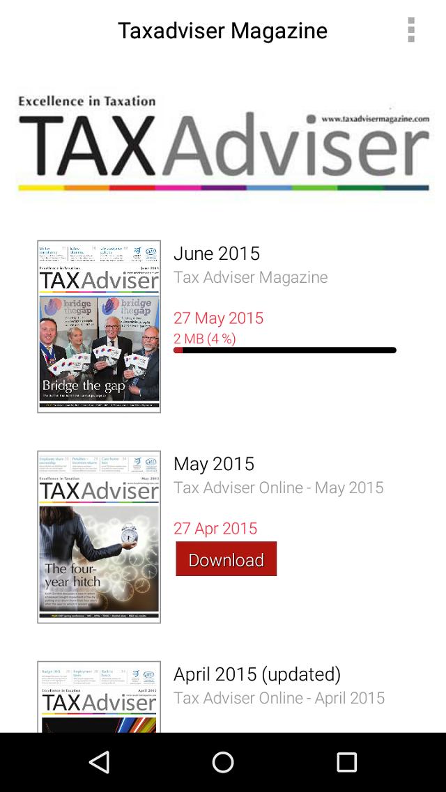 TAXAdviser.Available by app
