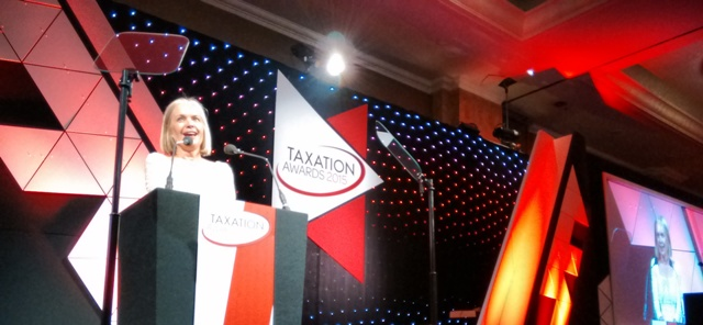 Taxation Awards.Mariella.Frostrup #taxawards15