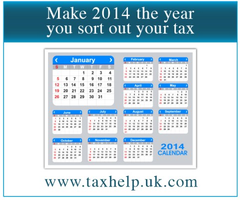 Make 2014 the year you sort out your tax