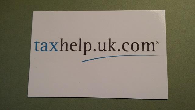 taxhelp 2015 business card