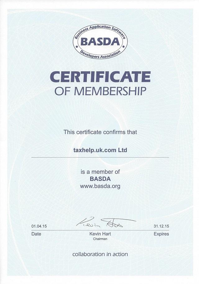 taxhelp.uk.com joins BASDA